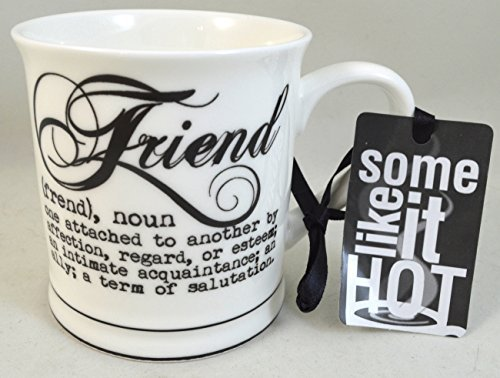 Coffee or Tea Mug for Your Best Friend: Definition of a Friend - Stoneware Mug (Friendship Cup)