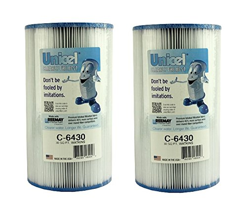 (2 New Unicel C-6430 Hot Springs Watkins Spa Filter Replacement Cartridges C6430)