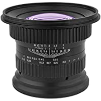 Opteka 15mm f/4 LD UNC AL 1:1 Macro Wide Angle Full Frame Lens for Canon EOS Digital SLR Cameras