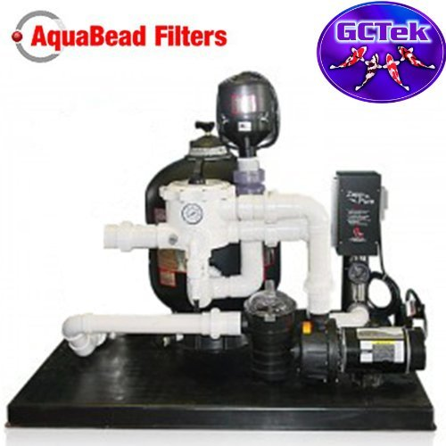 Bead Pressure Filter (GC Tek AquaBead Plus Filtration System ABPS 6.0 - For Ponds To 17,000 Gallons And Fish Loads To 300)