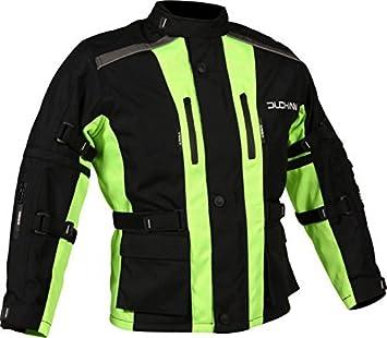 DUCHINNI Unisex-Child JAGO Youth Motorcycle Jacket Red, Medium