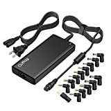 Outtag Ultra-Slim 65W Universal AC Laptop Charger Power Adapter 18.5V 19V 19.5V 20V for HP Dell Lenovo Acer ASUS Toshiba Samsung Sony Fujitsu Gateway Notebook Ultrabook Replacement Supply Cord