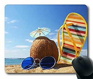 Rectangle mouse pad Diy Design The Agreeable Time Beach