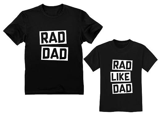 3b309ef54 Rad Dad - Rad Like Dad Matching Father & Son Set Funny Dad & Me Matching