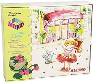 Alpino 418805 - Kit de manualidades joyas taller de Julieta