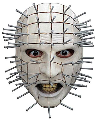 Adult Hellraiser Pinhead Face Mask - ST -