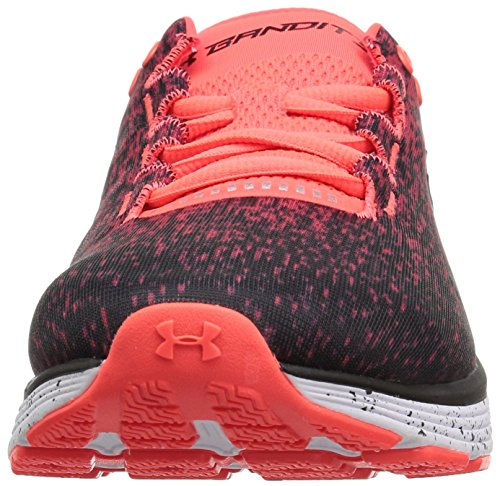Armour Ombre Coral UA Neon Running 3 600 Charged Chaussures de Bandit Under Homme Rose UdfwxFq4f