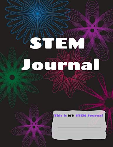 This is MY STEM Journal: Black Spirograph