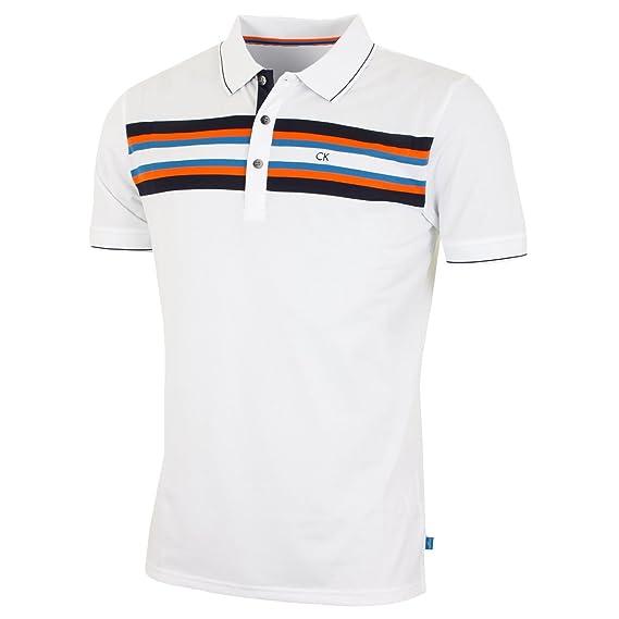 250264fd5 Calvin Klein Golf Mens CK Swerve Polo Shirt  Amazon.co.uk  Clothing