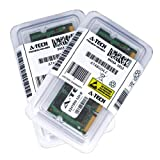 4gb pc2 5300 - 4GB kit (2GBx2) DDR2 PC2-5300 LAPTOP Memory Modules (200-pin SODIMM, 667MHz) Genuine A-Tech Brand