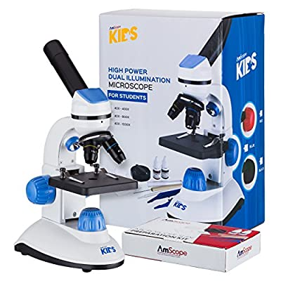 AMSCOPE-KIDS Dual Illumination Microscope