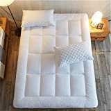 "Shilucheng Overfilled Queen Mattress Pad Cover | Fit 8""-21"" Deep Pocket Mattress 
