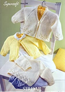 05fca1bc6742 Sirdar 3102 Supersoft Baby Double Knitting Pattern