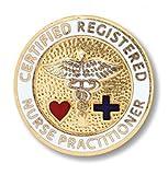 nurse ware - Prestige Medical Emblem Pin, Registered Nurse Practitioner (Certified)