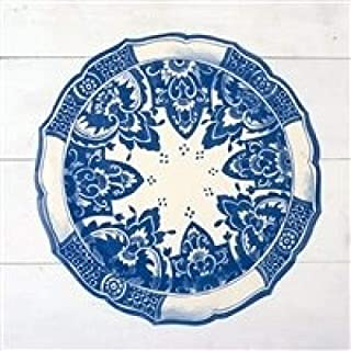 product image for Hester and Cook Die-Cut China Blue Paper Placemat Sheets