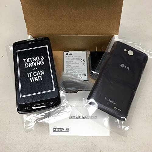 LG Optimus L90 D415 4G GSM Android Smartphone, T-Mobile, Grey