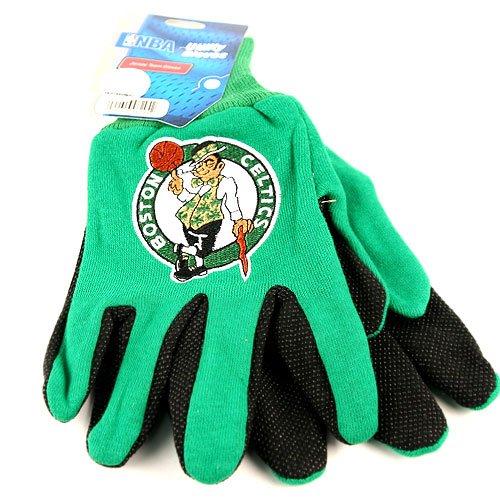 NBA Officially Licensed Utility Work Gloves (Boston Celtics) (Hat Granny)
