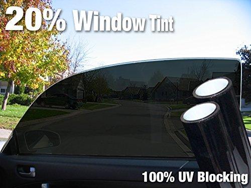2 Roll Pack VViViD Dark Black Adhesive Headlight Wrap Wet Tinting Vinyl 16 x 48 Roll