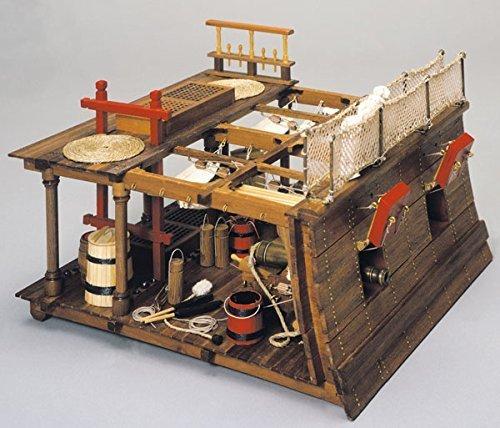 Import wooden sailing ship model Mantua model Panaruto 740 HMS Victory (Gandekki)