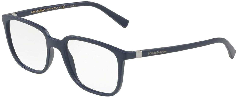 Dolce/&Gabbana DG5029 Eyeglass Frames 3017-52 Matte Blue DG5029-3017-52