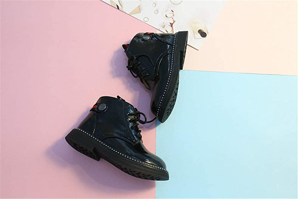 Boys Snow Ankle Boots Fur Lined Waterproof Warm Winter Outdoor Walking Shoes