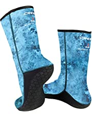 Anti-Slip Neoprene Socks for Snorkeling and Scuba Diving by Cressi: Quality since 1946