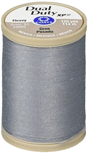 COATS & CLARK S950-0620 Dual Duty XP Heavy Thread, 125-Yard, Slate