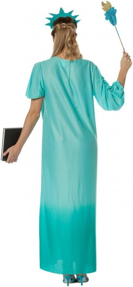 shoperama Deluxe para Disfraz de Mujer Vestido de Estatua de la ...