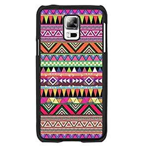 New Fashion Hipster Chevron Aztec Design Samsung Galaxy S5 Case Skin Colorful Geometric Triangle Diamond Shape Print Hard Plastic Cell Phone Skin for Girls