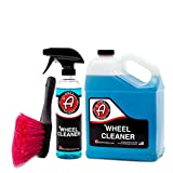 Automotive : Adam's Deep Wheel Cleaner - Tough on Brake Dust, Gentle On Wheels - Changes Color As It Works (Bundle)