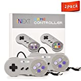 iNNEXT SNES Retro USB Super Nintendo Controller, USB PC Controller, Raspberry Pi Controller for Windows PC / MAC / Raspberry Pi (2 Pack)