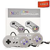 iNNEXT SNES Retro USB Super Nintendo Controller, USB PC Controller, Raspberry Pi Controller for Windows PC / MAC / Raspberry Pi (2 Pack)