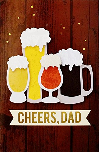 Cheers Dad - Father's Day Greeting Card -