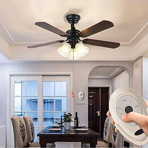 Ceiling Fan Remote Control Replace for Original FAN35T Harbor Breeze KUJCE9603, FCC ID: L3HFAN35T1 by Ecoobay (Image #5)