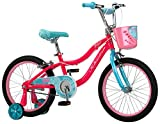 "Schwinn Elm Girls Bike with SmartStart, 18"" Wheels, Pink"