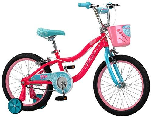 Schwinn Elm Girl's Bike with SmartStart, 18'' Wheels, Pink by Schwinn (Image #1)