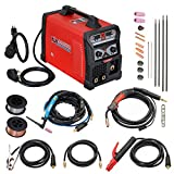 MTS-205 205 Amp MIG/TIG-Torch/Stick Arc Combo Welder, Weld Aluminum(MIG) 110/230V Dual Voltage Welding New