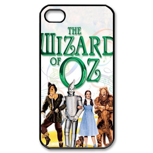Fayruz- The Wizard of Oz Protective Hard TPU Rubber Cover Case for iPhone 4 / 4S Phone Cases A-i4K260