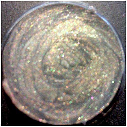 Silks Acrylic Iridescent Glaze Jar 1oz Warm Gray-semi opaque