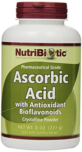 Nutribiotic Ascorbic Acid Powder with Bioflavonoids, 8 Ounce