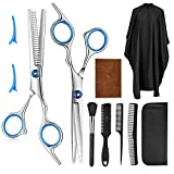 10 Pcs Professional Hair Cutting Scissors Set
