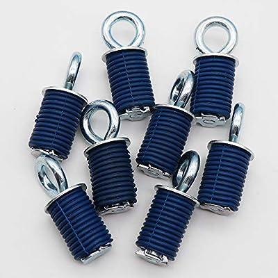KIPA Tie Down Anchors For Polaris RZR Sportsman 90 110 300 350 335 400 500 550 570 700 800 850 Ace 570 SP X2, Durable 8-Pack: Automotive