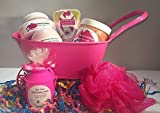 Spa Time Bath SetSpa SetGift Set Body ButterBath BombsSugar Scrub - Juicy Watermelon