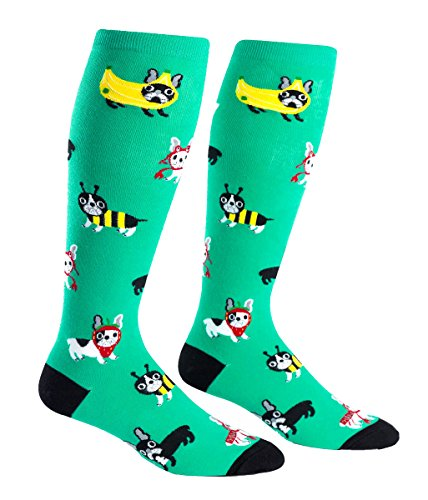 Sock it to Me Stretch-It Womens Knee High Socks (Dog Costume Party)