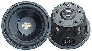 Lanzar MAXP154D Max Pro 15-Inch 2000-Watt Small-Enclosure Dual 4-Ohm Subwoofer