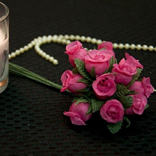 (Dorigan home series 72 Beautiful Poly Fabric Roses Multi Colors Wedding Flower Crafts Diy Gift)