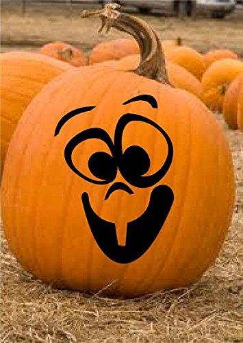 Enchantingly Elegant pumpkinface1 Set of 12 Pumpkin Faces