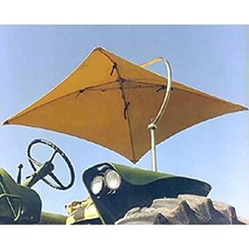 International Resources Tractor Sun Shade Umbrella Multi Color Orange