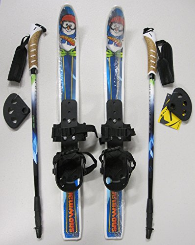 Snowman Children's Nordic Skis Waxless 70cm 2010 W. Poles/bindings