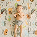 """Toddleroo by North States 71"""" x 71"""" Folding ABC"""